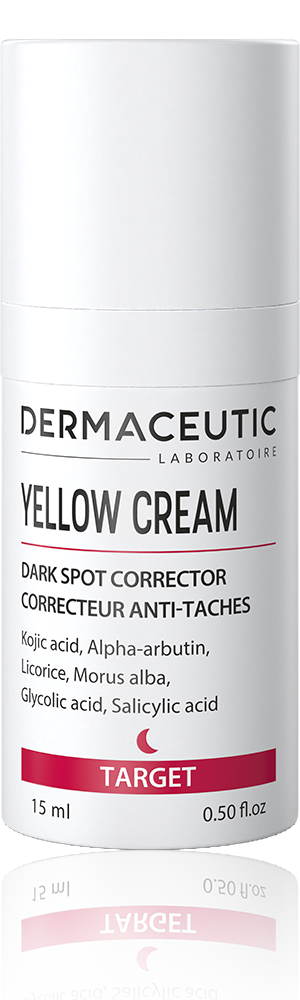 yellow cream kojic acid in 15ml